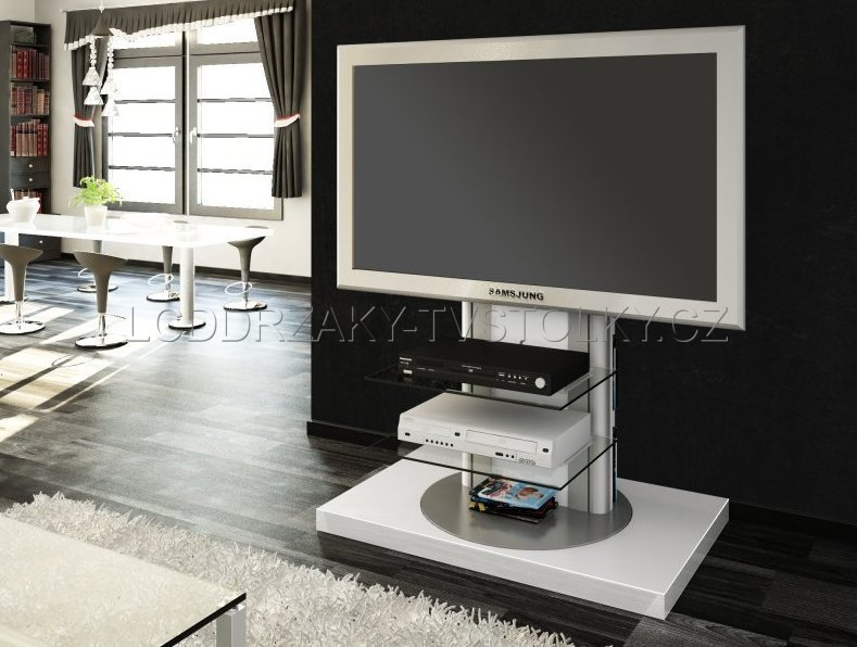 TV stojan AMORE WHITE