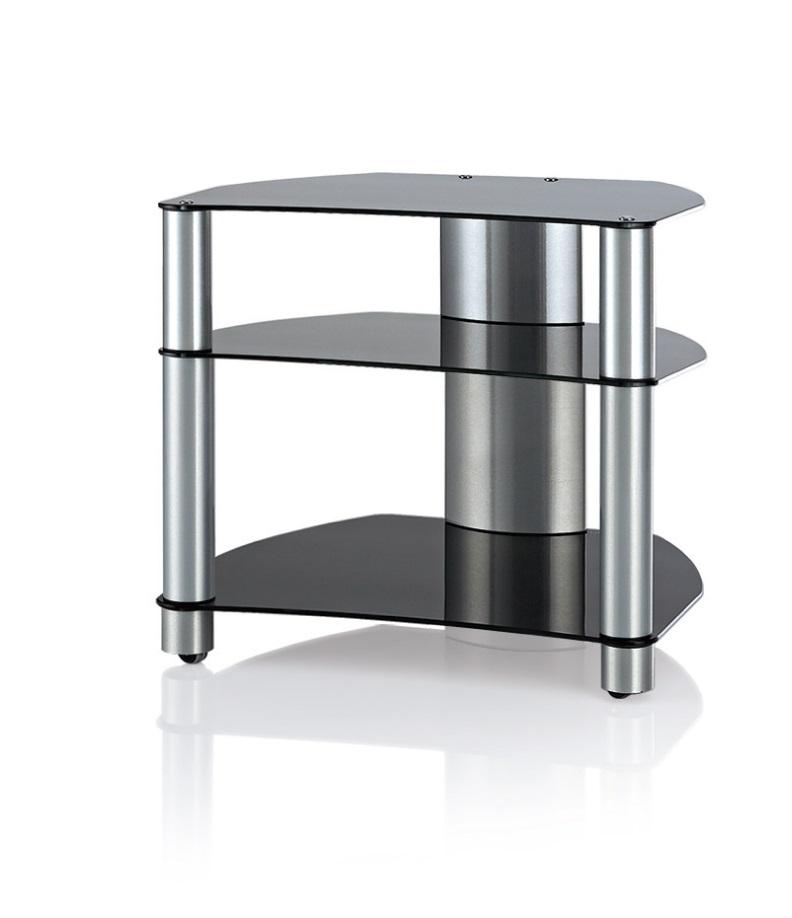 Hifi stolek Ultimate RACK D300 (černý)