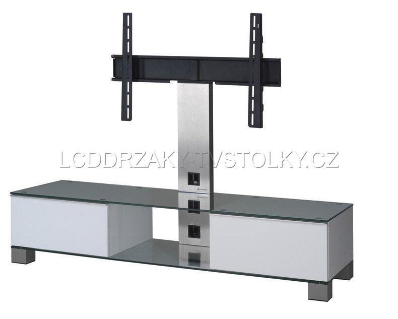 Tv stolky a televizn stojany modern tv stolek md 8140 for Meuble tv ecran plat suspendu