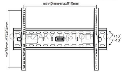 "Sklopný držák 32""-60""  MKF 12 - 1"